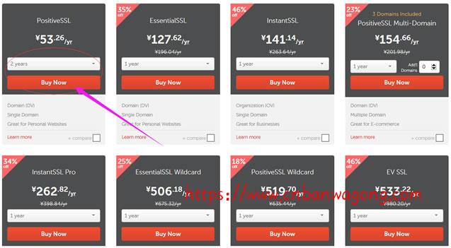 Namecheap购买付费Comodo PositiveSSL SSL证书记录