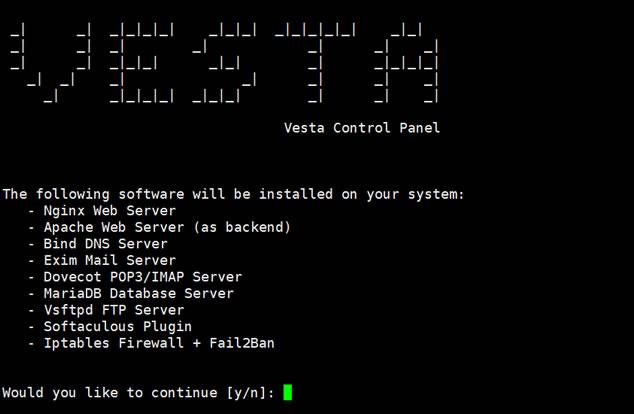VestaCP面板支持系统和脚本安装