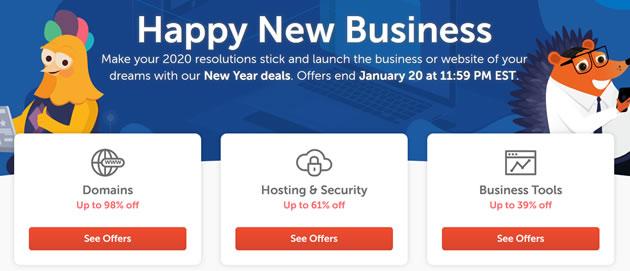 NameCheap优惠码 - Namecheap新年域名新注册优惠 .COM域名54元