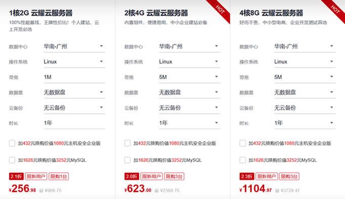 华为云服务器云上优惠 2核4G5M云服务器年付600元