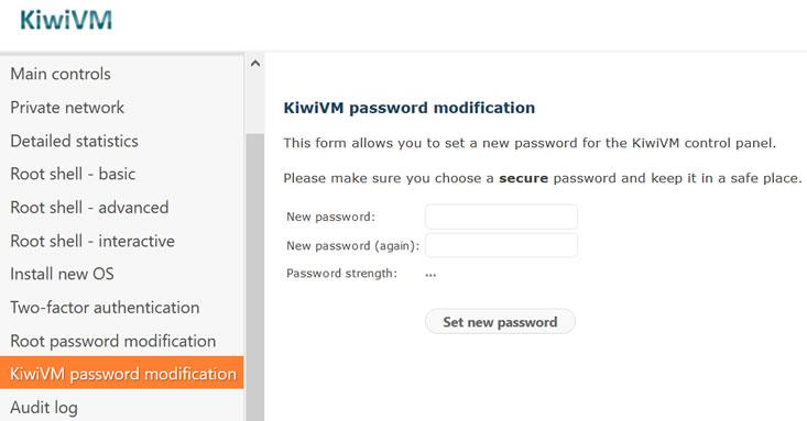 搬瓦工KiwiVM面板支持启用二次密码验证 确保服务器安全