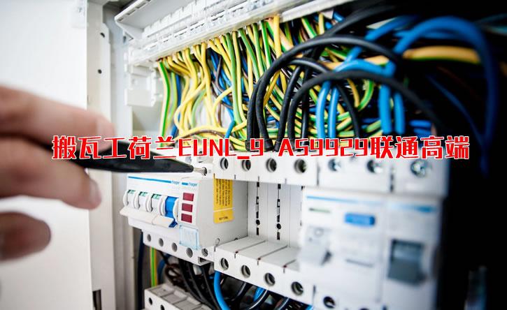 搬瓦工荷兰EUNL_9 AS9929联通高端 综合性能测试